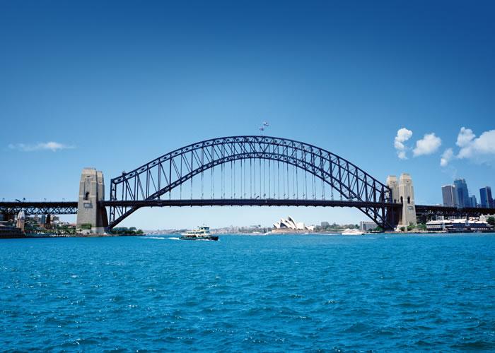 Sydney, een bijzondere brug