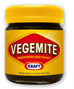 Vegemite - Squased flies with the wings taken of